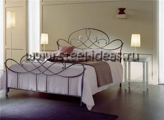 Кованая кровать - Пауль