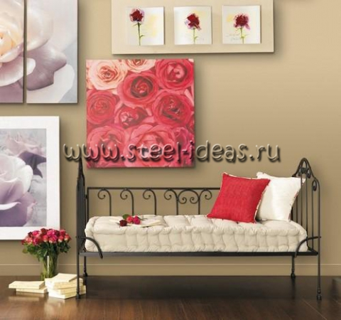 Кованый диван Зои