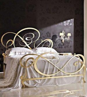 Кованая кровать - Каролина