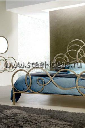Кованая кровать - Карлотта