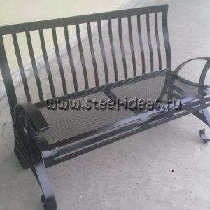 Кованый диван Карл
