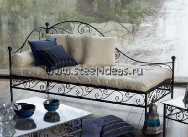 Кованый диван Стефан