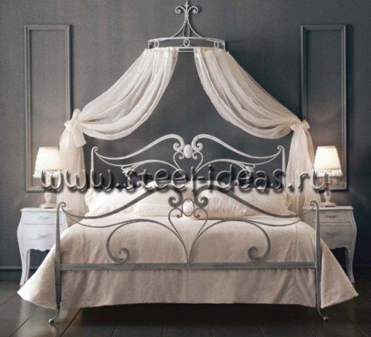 Кованая кровать - Леонарда
