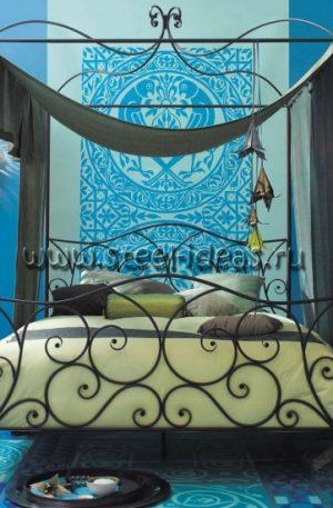 Кованая кровать - Персефона