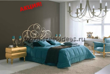 Кованая кровать - Лия