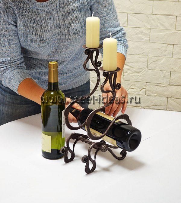 Кованая бутылочница - Дина