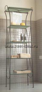 Кованая этажерка в ванную