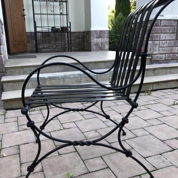 Кованые кресла фото