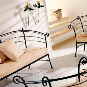 кованые диваны и кресла для дома