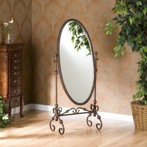 Кованые напольные зеркала
