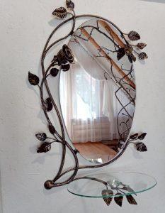 Кованое зеркало Поль