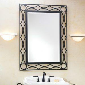 Кованое зеркало Ирида