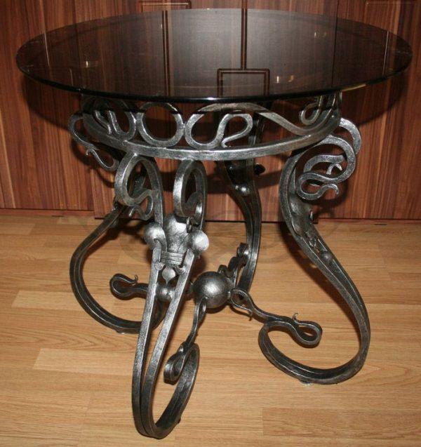 Купить кованый круглый стол
