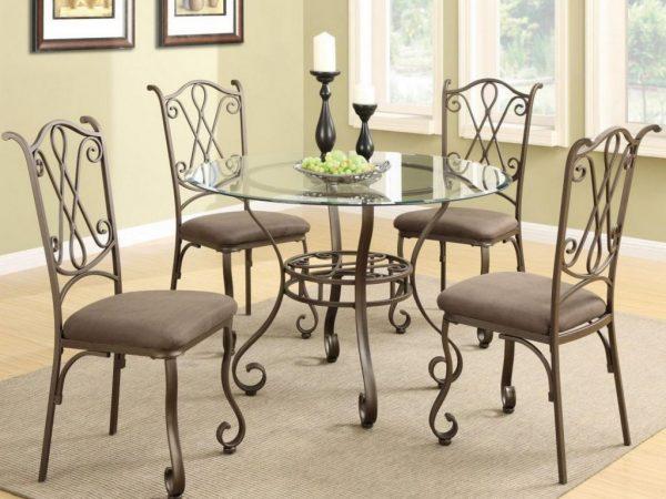 Кованые стулья для дачи