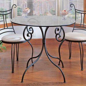 Кованые стулья для сада
