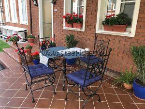 Кованая мебель для дачи - Монро_2