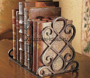 Кованая подставка для книг - Фрея_2