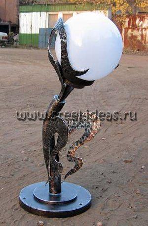 Кованый фонарь - Факел