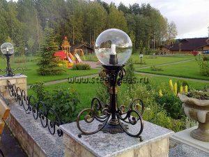 Кованый фонарь - Гранд