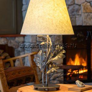 Кованый светильник - Дуб