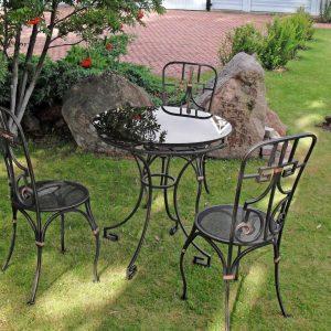 Кованая мебель для сада недорого