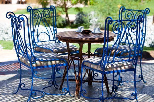 Кованая мебель для сада купить