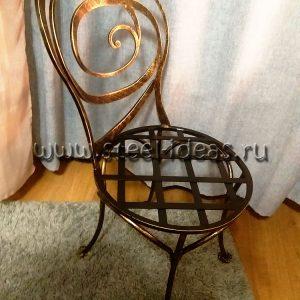 Кованый стул - Снежная королева