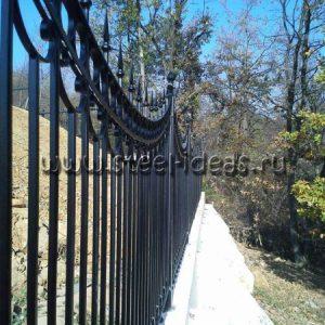 Кованый забор Виво