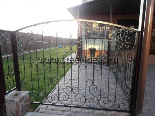 Кованые ворота Руф