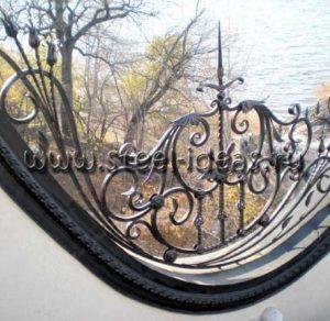 Кованый забор Парамон