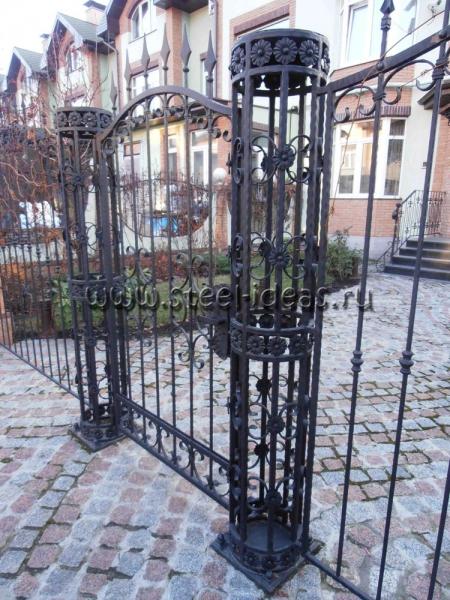 Кованые ворота Вилен