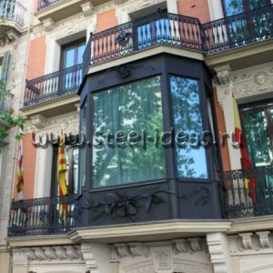 Кованый балкон Ренди