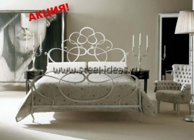 Кованая кровать Аделла