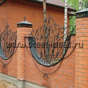 Кованый забор Лакшми