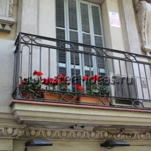Кованый балкон Дора
