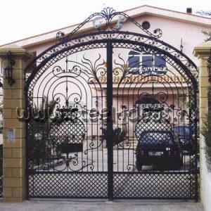 Кованые ворота Дора