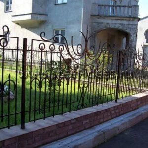 Кованый забор Лора
