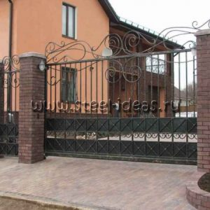 Кованые ворота Вита