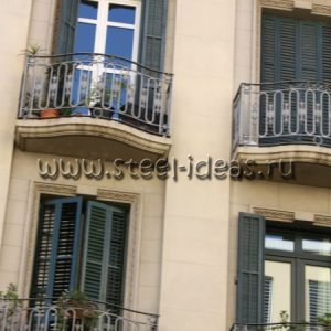 Кованый балкон Хуан