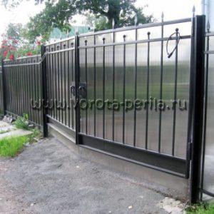 Кованые ворота Молли