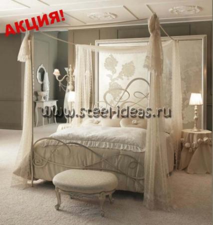 Кованая кровать Афродита