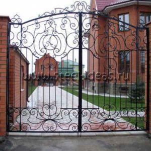 Кованые ворота Милана