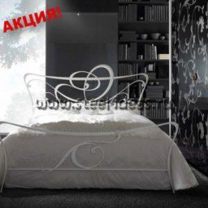 Кованая кровать Капитолина
