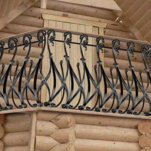 Кованый балкон Кельт