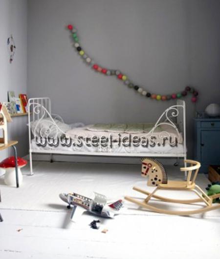 Кованая кровать - Бюбхен