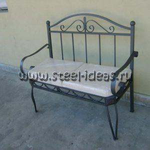 Кованый диван Хвоя