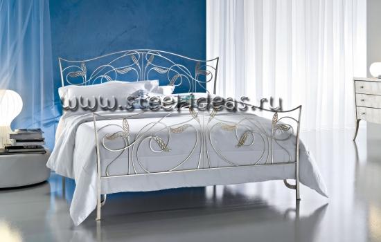 Кованая кровать - Дафна