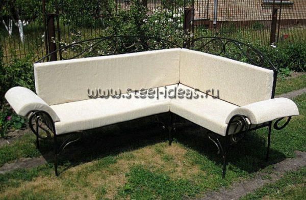 Кованый диван Англи
