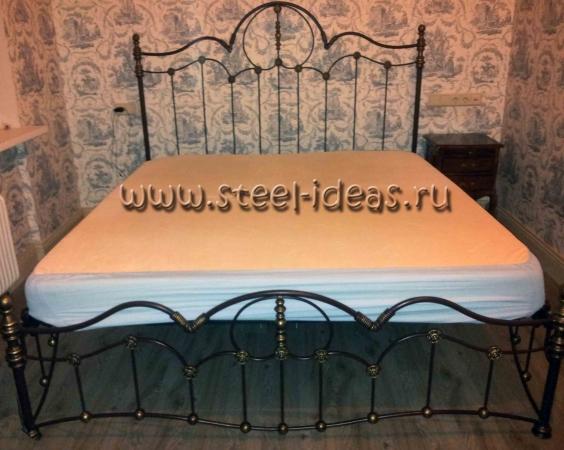 Кованая кровать - Ольга