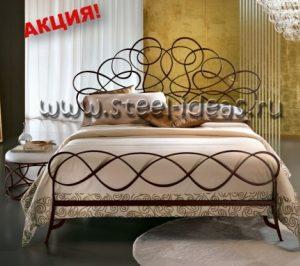 Кованая кровать - Августина